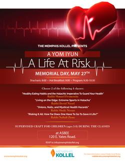 life at risk flyer rv2