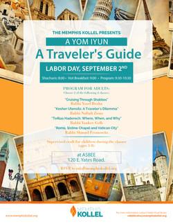 yom iyun travel flyer