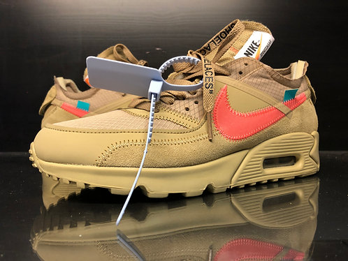 Air Max 90 OFF-WHITE Desert Ore Sz 8