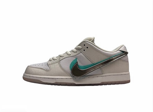 Nike SB Dunk Low Pro Diamond White - Sz 13