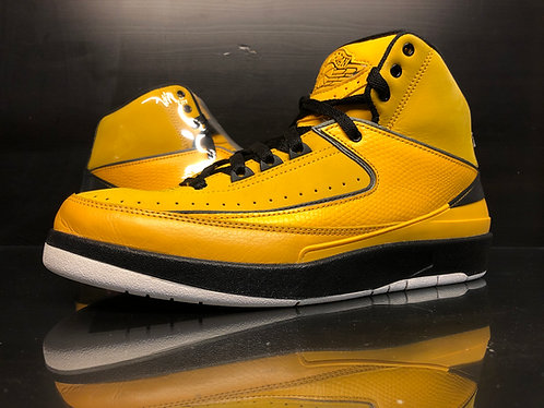 "Air Jordan 2 Retro Qf ""Candy Pack"" Yellow - Sz 9"