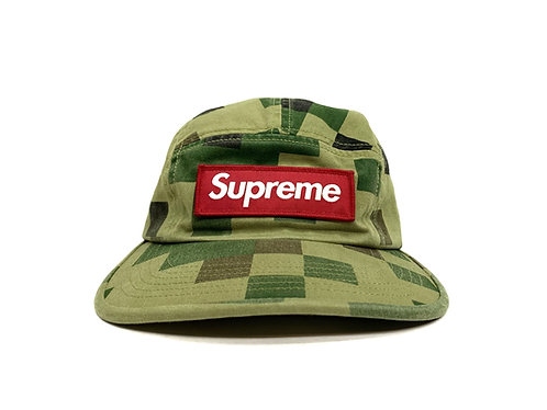 "Supreme Military Camp Cap ""Olive Digi Camo"""