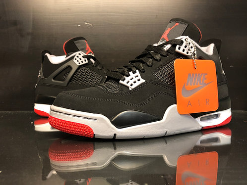 Air Jordan 4 Bred- Sz 7