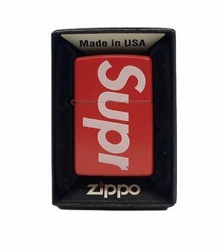 Supreme x Zippo Logo Zippo