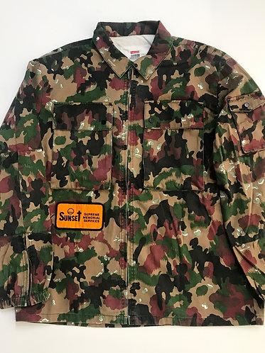 S/S 17 BDU Supreme Swiss Camo Shirt