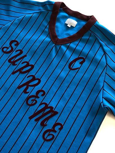 Supreme AD Baseball Jersey - M