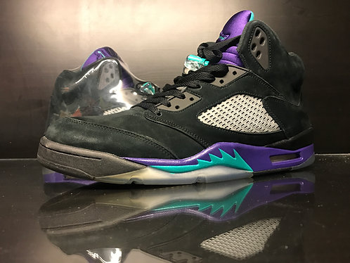 Air Jordan Black Grape 5 - Sz 14