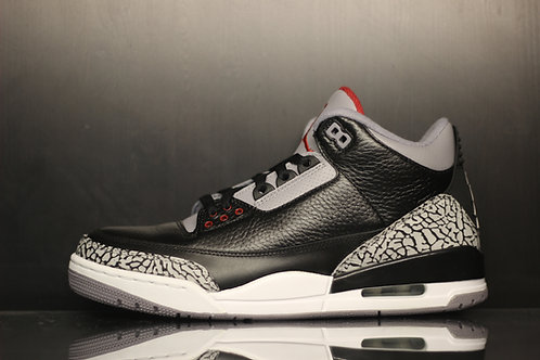 Air Jordan 3 Retro Black Cement - Sz
