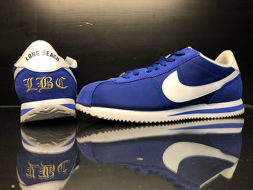 Nike Cortez Basic Nylon - Long Beach - Sz 10
