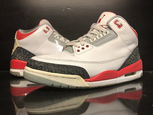 Air Jordan Fire Red 3 - Sz 8
