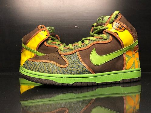 "Nike Dunk High Pro SB ""De La Soul"" - Sz 9.5"