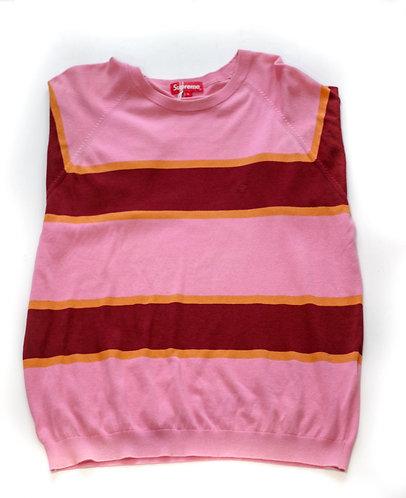 Supreme Pink Stripe Sweater