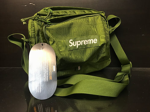 Supreme SS19B10 Shoulder Olive