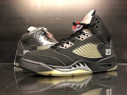 Air Jordan 5 Metallic - Sz 9
