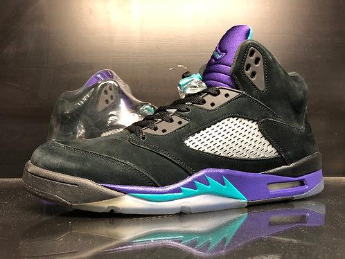 Air Jordan V Black Grape - 14