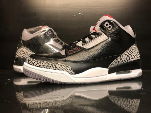 super popular 2e30d c964e Jordan 3 Retro Black Cement (2011) - 9.5