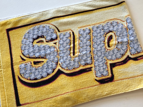 Supreme Box Logo Bling Towel SS13
