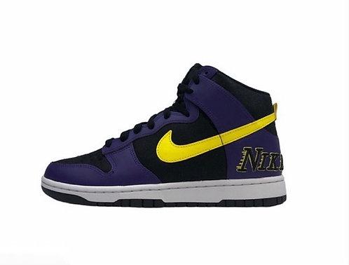 "Nike Dunk Hi Premium Embroidery ""Lakers"""