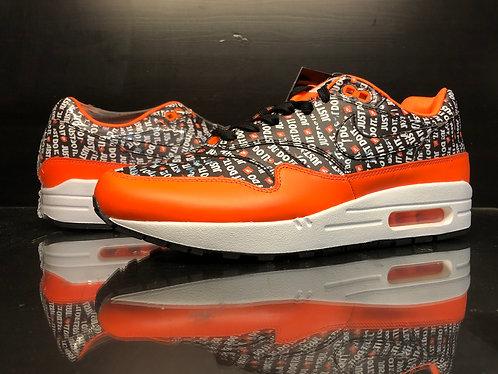 Air Max 1 Just Do it Orange - Sz 9.5