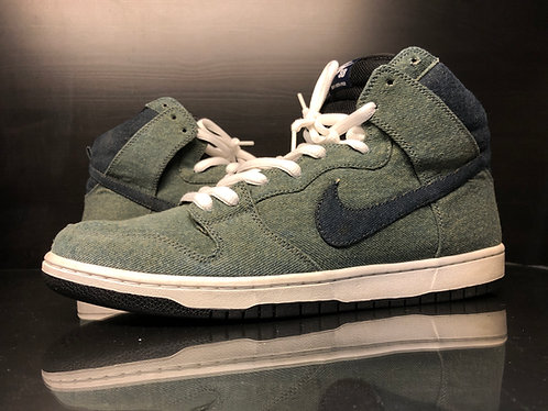 Nike Dunk SB High 'Denim' - Sz 13