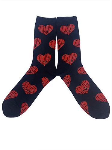 "Illery ""Mad Love"" Sock"