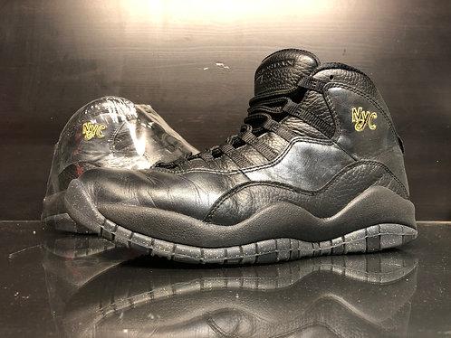 Air Jordan Retro 10 NYC - Sz 9.5