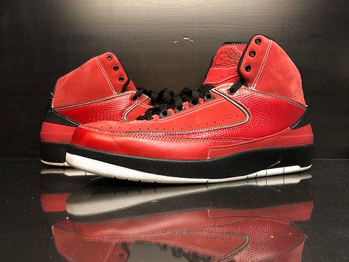 Jordan 2 Retro QF Candy Pack Red Sz 11.5