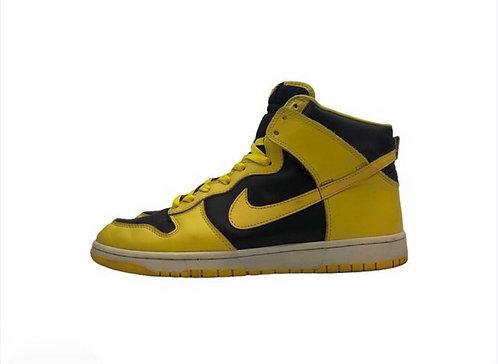 "ModNike Dunk High ""Golden Rod"" Colorway: Black/Bright Goldenrod Size: US 13"