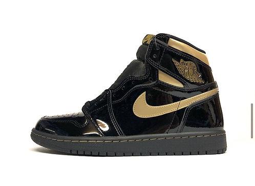 "Air Jordan 1 ""Black Metallic Gold"""