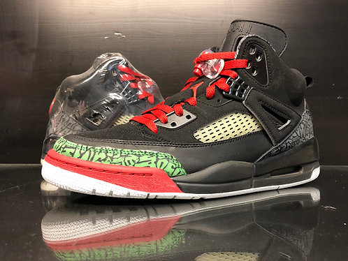 Air Jordan Spiz'ike Blk/Grn/Red - Sz 9