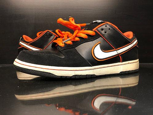 Nike Dunk SB Low Black Orange Blaze - Sz 9.5