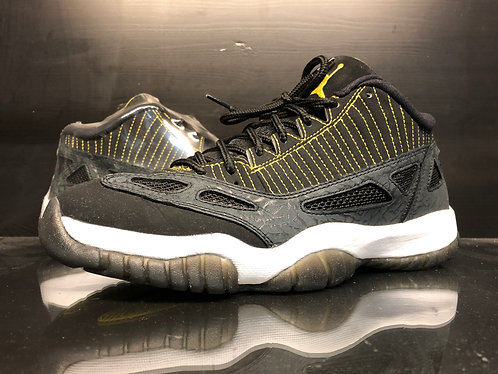 Air Jordan 11 XI Low Black Zest - Sz 9