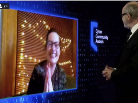 Cybersafe Founder named SBRC Cyber Community Hero 2021