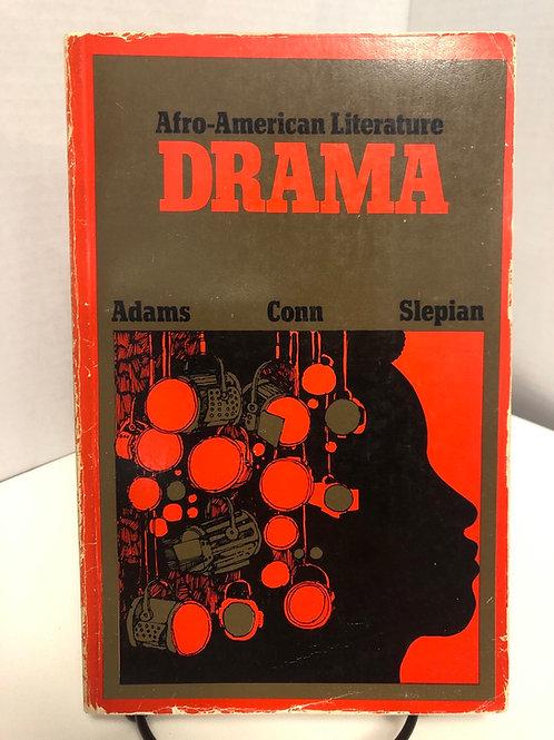 African American Literature Drama