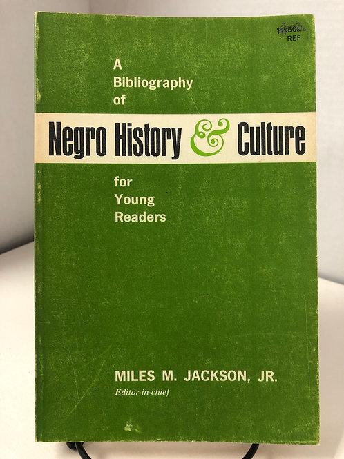 Negro History & Culture
