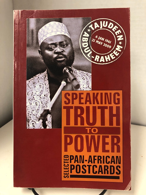 Selected Pan-African postcards: Speaking Truth to Power