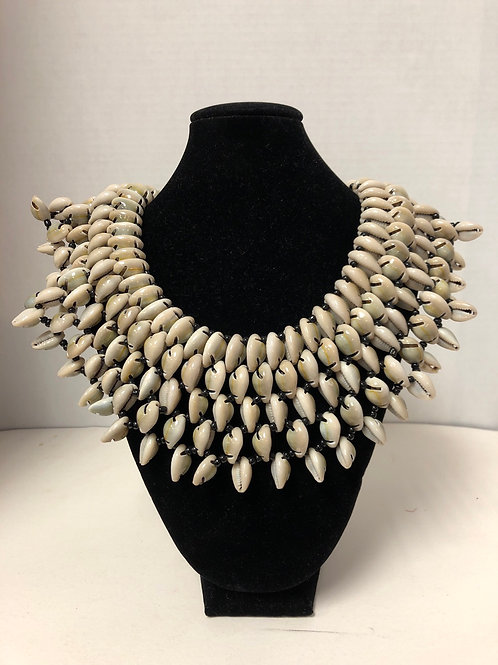 Cowrie Shell Collar
