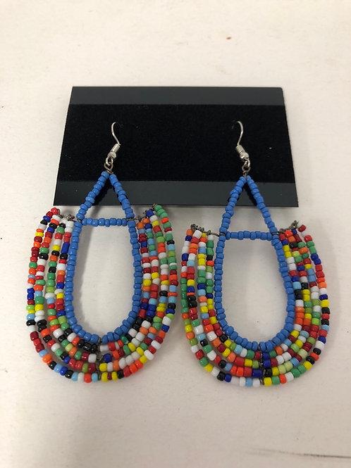 Zulu Beaded Earrings