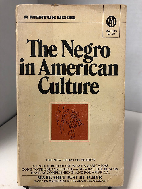 The Negro in American Culture