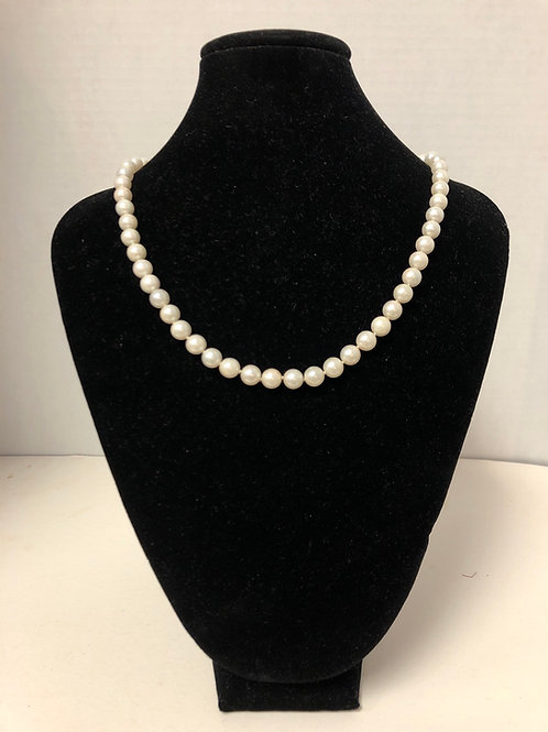 Cultured White Pearls