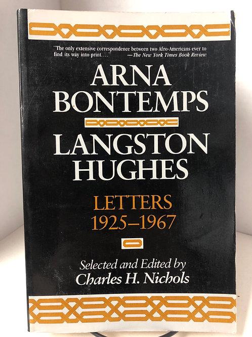 Arna Bontemps; Langston Hughes: Letters 1925-1967