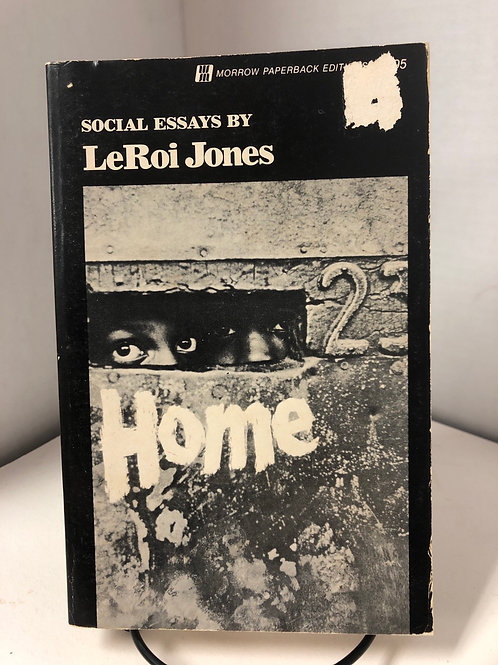 Home: Social Essays by LeRoi Jones