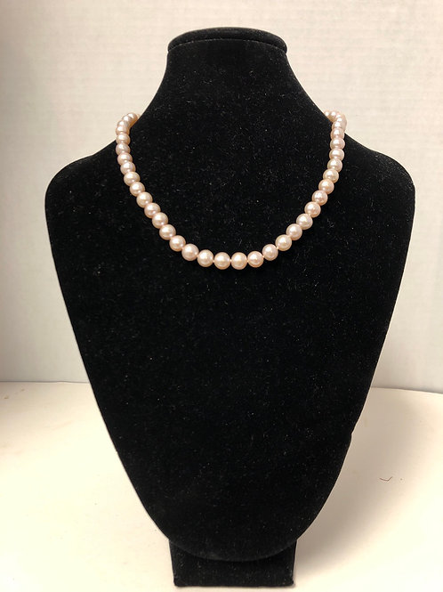Cultured Peach Pearls