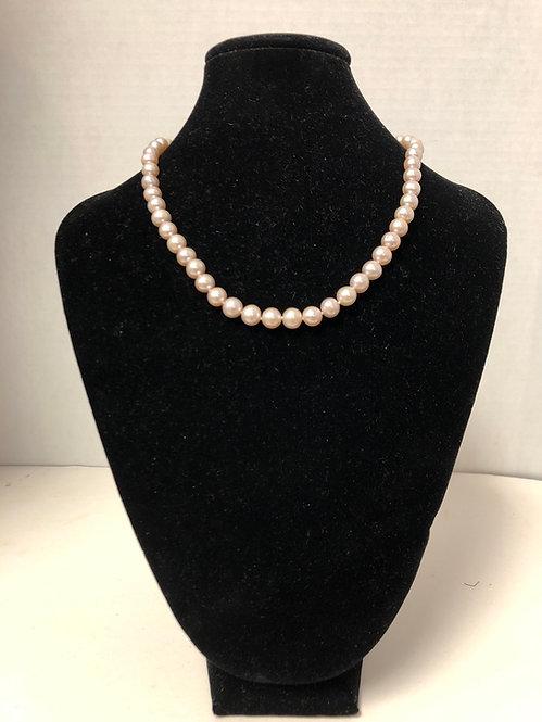 Cultured Peach Pearls