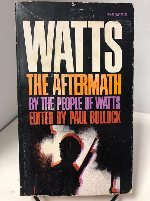 Watts: The Aftermath