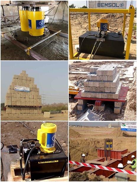 Pile testing Equipment