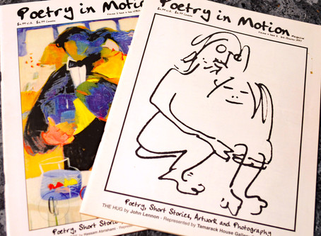 Who remembers Poetry in Motion magazine?