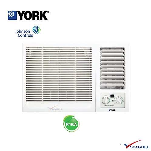 York Window Air-conditioner Johnson Control 1.5HP R410A