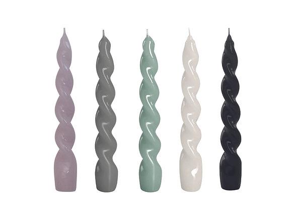 Glossy Spiral Candlestick