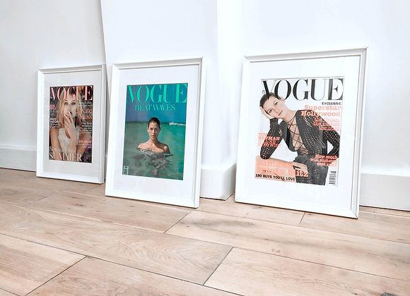 Vogue Magazine Frame Mount